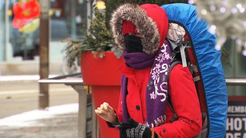 CTV Toronto: Arctic-like weather strikes GTA