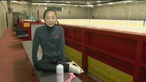 CTV Montreal: Randy's Rookies: Grace Lin, figure skater