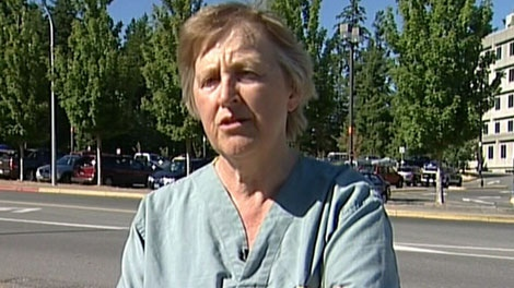 Dr. Sue Ferreira is calling for a coroner's inquest into a newborn's death at Victoria General Hospital. Aug. 16, 2011. (CTV)