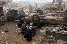 Bomb attack in Balad Ruz, Iraq