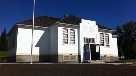 The Little White School in St. Albert