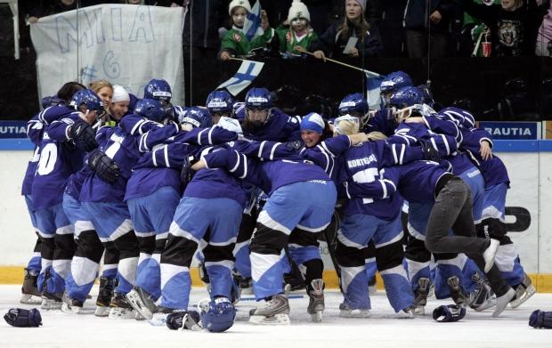 Finland wins ringette championship