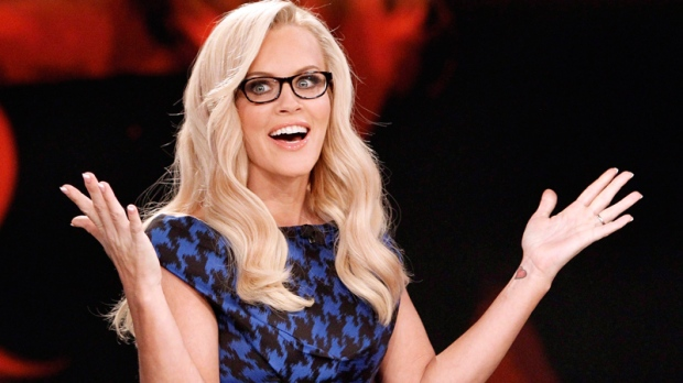 Jenny McCarthy during a broadcast of 'The View'