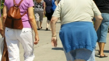Walkability affecting weight