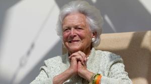 Barbara Bush in Aug. 2013