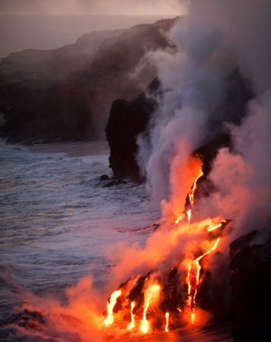 World's most active volcanoes