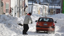 Winter weather grips Canada