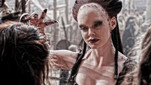 Rose McGowan as Marique in 'Lionsgate Films' 'Conan the Barbarian'