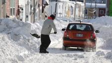 Winter storm in Newfoundland