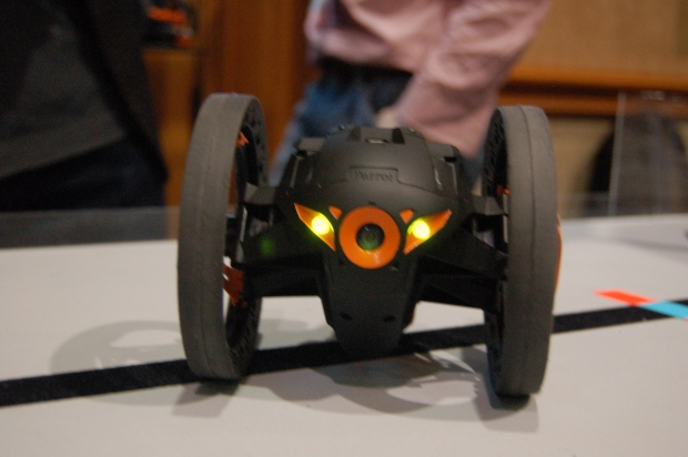 Parrot's Jumping Sumo robot