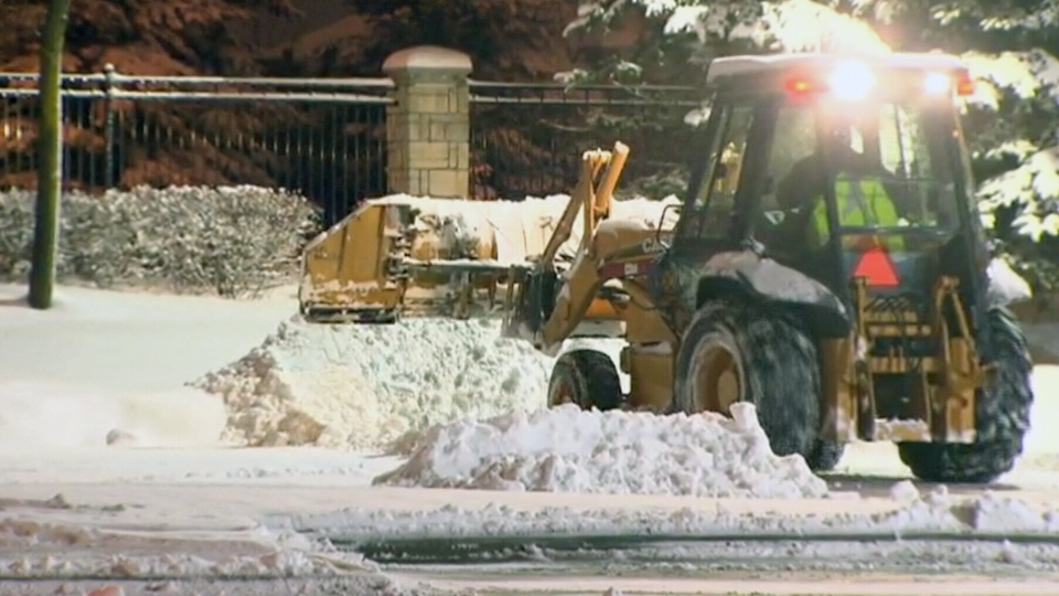 Freezing rain warnings are in effect for parts of the Maritimes, Quebec and Ontario, Monday, Jan. 6, 2014.