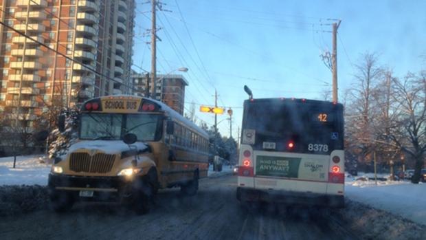 School Closures Toronto: School Bus Cancellations Around The GTA For Monday, Jan. 6