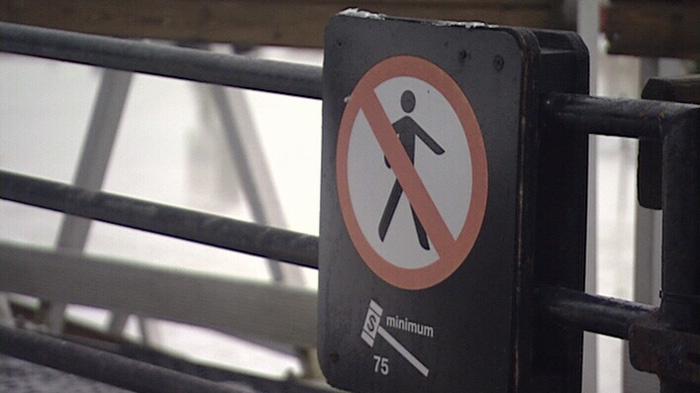 Rideau Canal Skateway closed