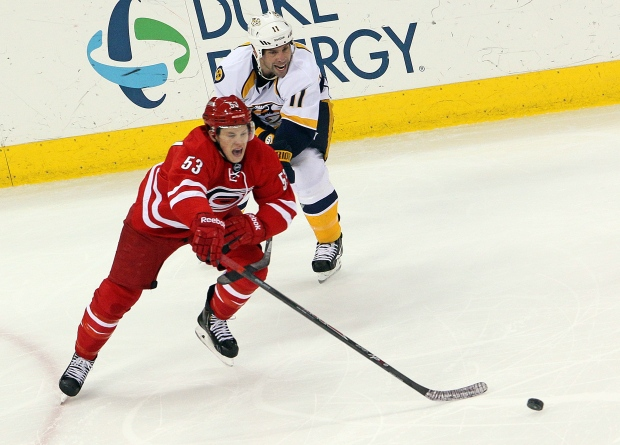 Jeff Skinner named NHL star of the week