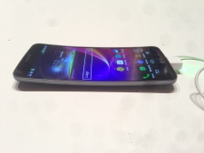 LG G Flex curved smartphone