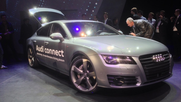 CES This Audi Drives Itself So Why Cant We Buy One CTV - Audi car that drives itself