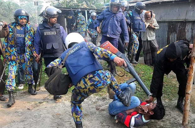 3 charged for violence in Bangladesh elections