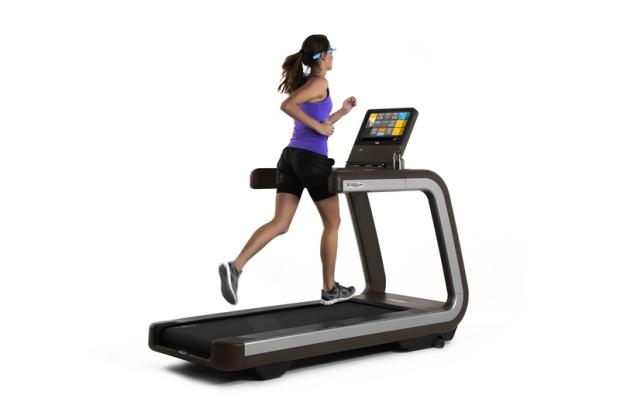 Smart treadmill controlled Google Glass