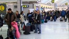 Pearson delays flights Toronto