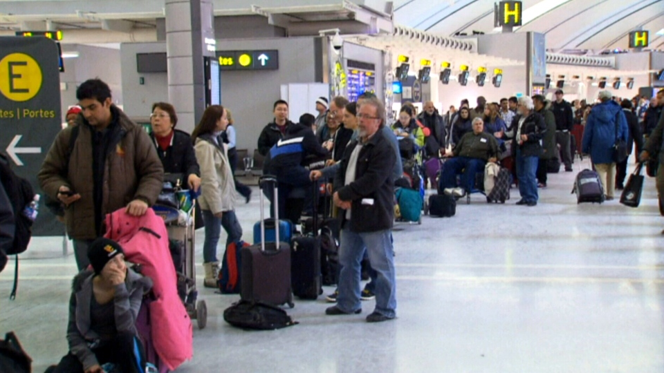 Pearson delays flights Toronto