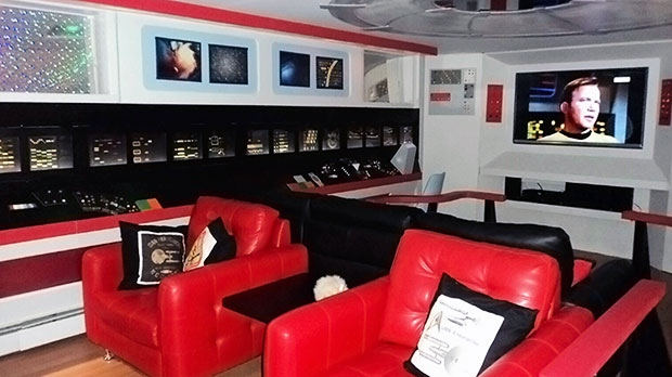 Tour this Star Trek-inspired home