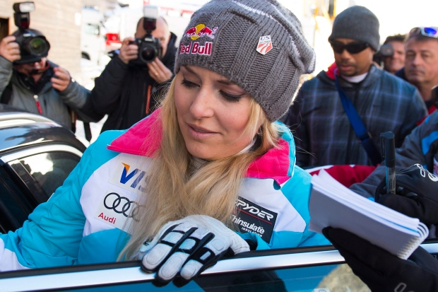 Lindsey Vonn to miss Olympics