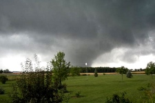 A tornado touched down in Goderich, Ont. on August 21, 2011. One person has died.
