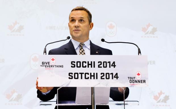 Team Canada Olympic hockey team Executive Director