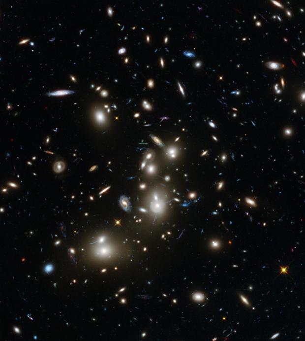 Hubble captures ancient galaxies