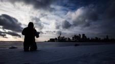 Toronto deep freeze harbour
