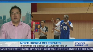 CTV News Channel: Rodman's visit is 'absurd'