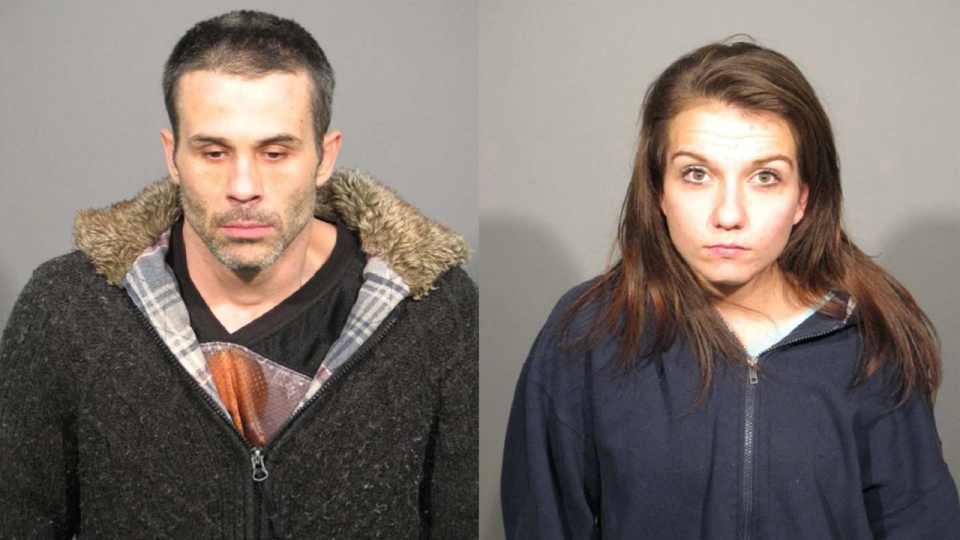 Patrick Lachance, 35, and Valerie Vezina, 23, were arrested on Dec. 26, 2013. They are charged with assaulting two people in their Hochelaga-Maisonneuve home.