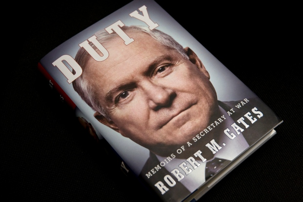 Former U.S. Defense Secretary Robert Gates' book
