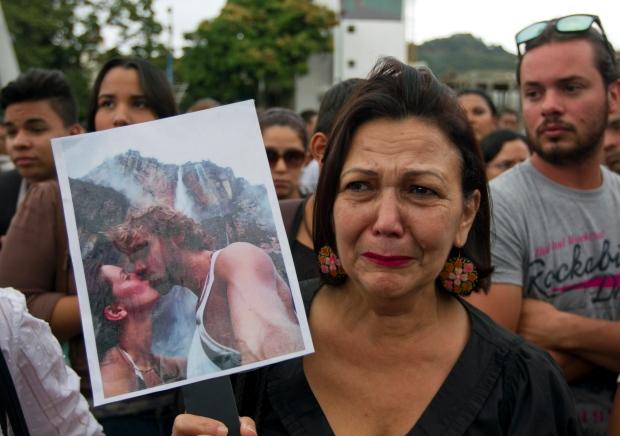 Outrage over killing of former Miss Venezuela