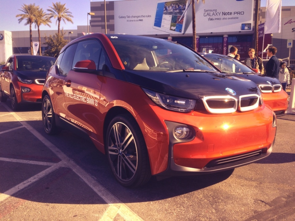 BMW's i3 is an all-electric car. Just plug in, charge, and drive away. (Maurice Cacho / CTV)