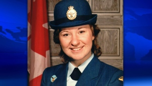 Canadian soldier dead Leona MacEachern