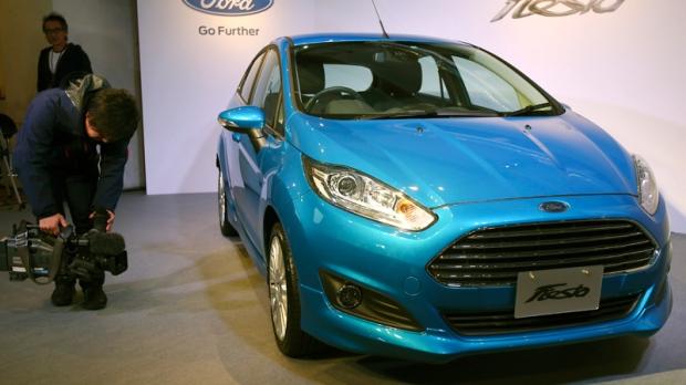 Ford Fiesta in Tokyo, Japan