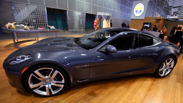 Fisker Automotive's Fisker Karma in 2010