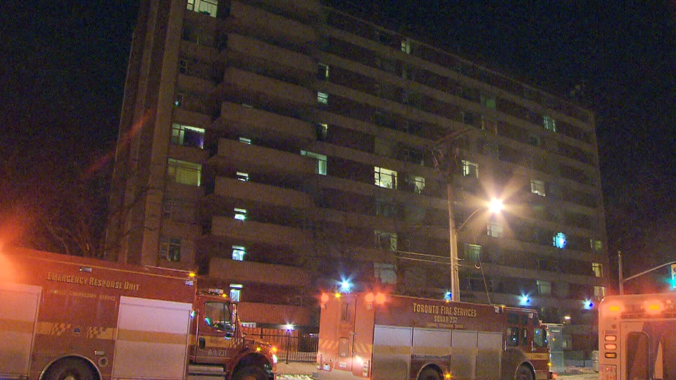 Man rushed to hospital after east-end Toronto apartment ...