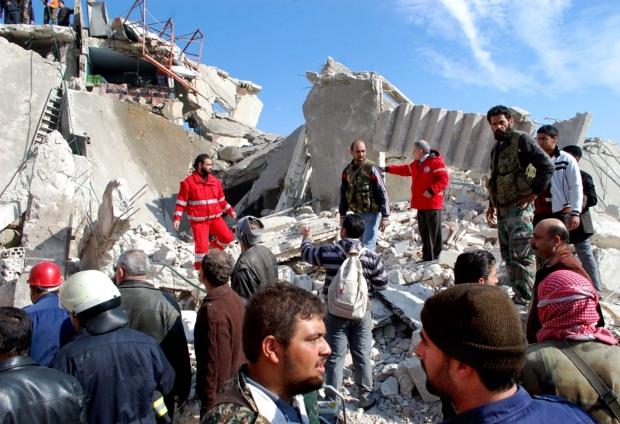 Car bomb in al-Kaffat, Syria