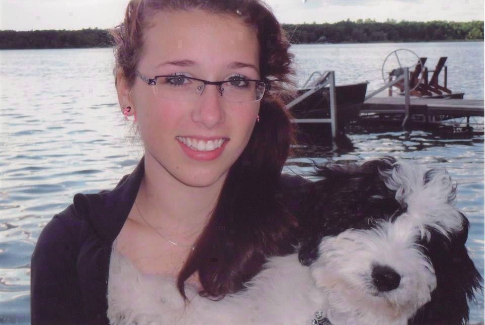 Rehtaeh Parsons is shown in a handout photo from the Facebook tribute page 'Angel Rehtaeh.' Parsons' father says he was the victim of online death threats made by one of the men charged in connection with his daughter's case.