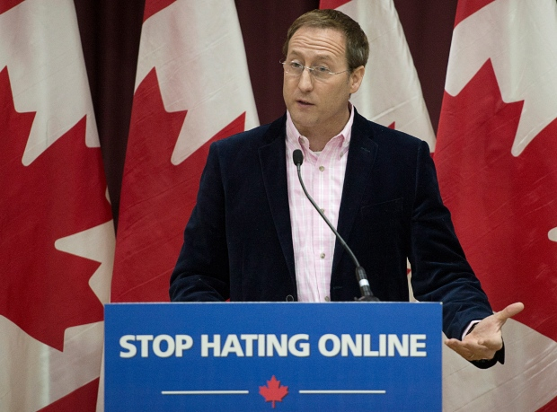 Peter MacKay makes cyberbullying announcement