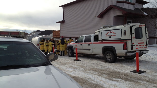 Search and rescue crews joined in on the hunt for evidence on Thursday.