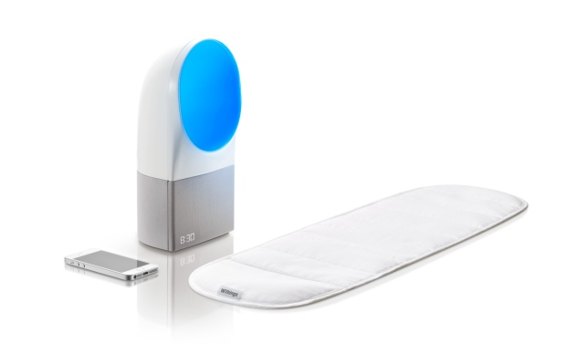 Aura self-monitored sleep sensors