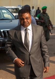 Prime Minister Nicolas Tiangaye