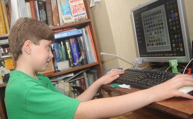 Minecraft on a computer