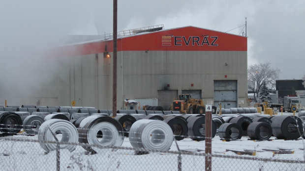 Layoff notices issued to nearly 600 Evraz employees: union