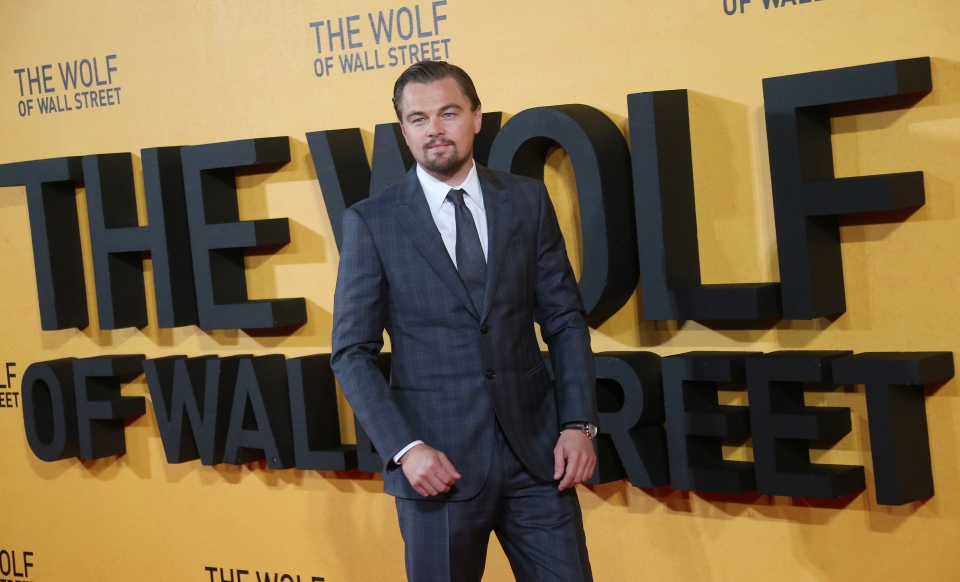 U.S actor Leonardo DiCaprio arrives for the UK Premiere of The Wolf Of Wall Street, at a Leicester Square cinema in central London, Thursday, Jan. 9, 2014. (Photo by Joel Ryan/Invision/AP)