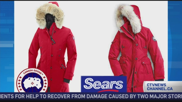 Canada Goose parka sale fake - Sears accuses Canada Goose of bullying, intimidation due to ...