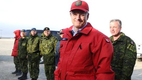 Harper's Arctic Tour